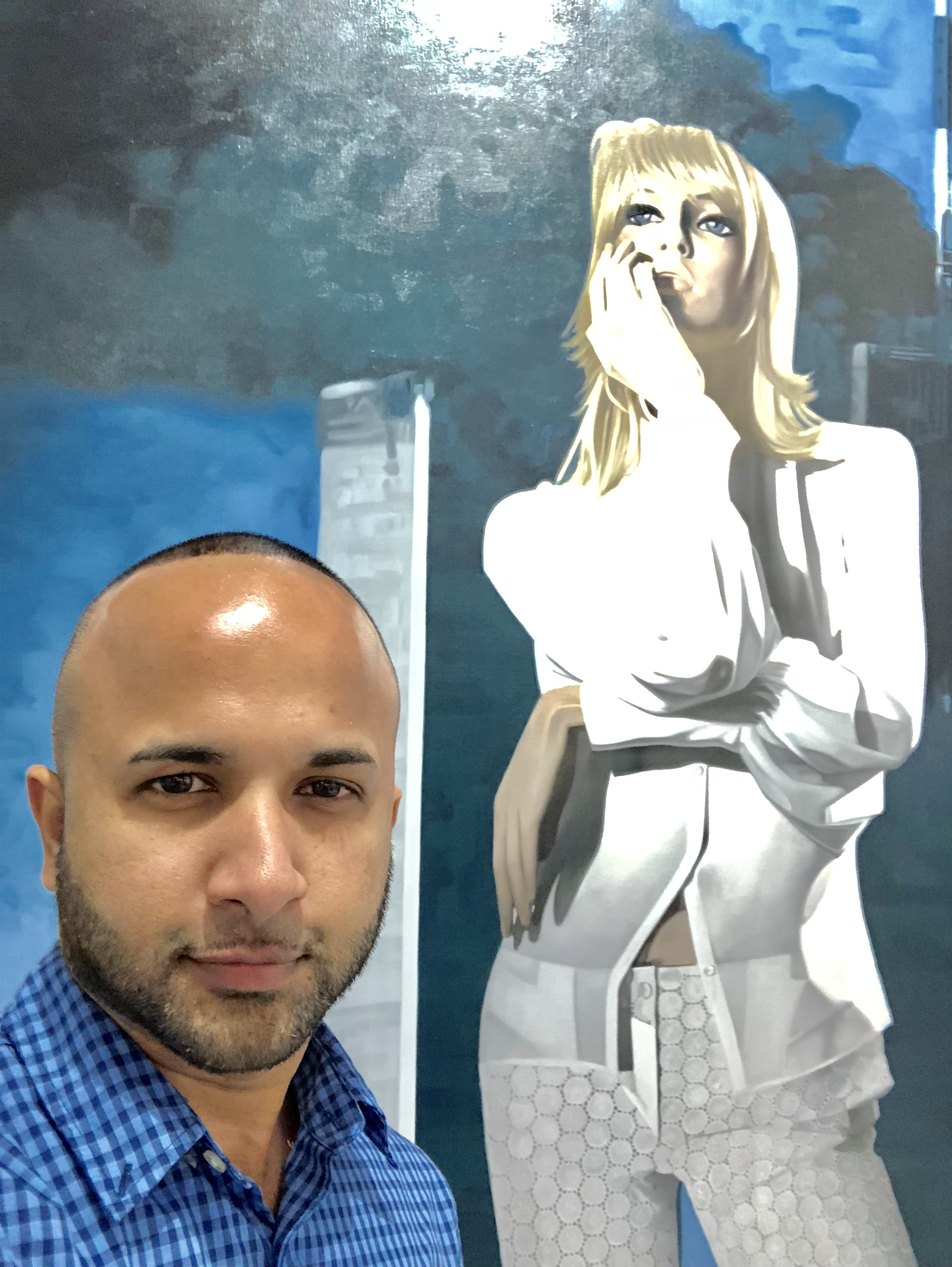 22 Terrence Narinesingh at Art Basel Miami 2017 John Grande New York, USA 911