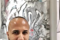 08 Terrence Narinesingh at Art Basel Miami 2017 Diego Santanelli Naples, Italy BEYOND THE PATH ZERO