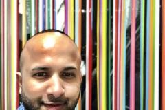 11 Terrence Narinesingh at Art Basel Miami 2017 Francisco Valverde Cuernavaca, Mexico WAVOIDS
