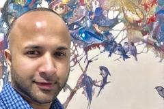 29 Terrence Narinesingh at Art Basel Miami 2017 Luis Bivar Portugal UNTITLED