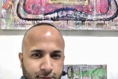 31 Terrence Narinesingh at Art Basel Miami 2017 Mark Streben Italy UNTITLED 1