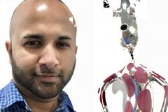 33 Terrence Narinesingh at Art Basel Miami 2017 Massimo Lunardon, Italy VETRO SOFFIATO (BLOWN GLASS)
