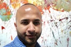 38 Terrence Narinesingh at Art Basel Miami 2017 Omar Hassan Milan, Italy BREAKING THROUGH LAMBRATE #10, 2017