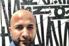 42 Terrence Narinesingh at Art Basel Miami 2017 RETNA California, USA SAY MY NAME, SO YOU CAN SEE ME