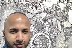 46 Terrence Narinesingh at Art Basel Miami 2017 Sang Hwan Bang South Korea UNTITLED