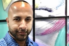 52 Terrence Narinesingh at Art Basel Miami 2017 THE SPACE BETWEEN - SLIP