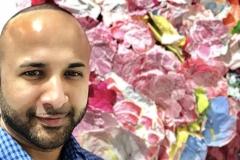 53 Terrence Narinesingh at Art Basel Miami 2017 Zhuang Hong Yi China FLOWERSCAPE