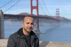 4 Terrence Narinesingh at the Golden Gate Bridge San Francisco California