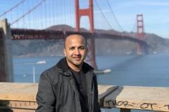 5 Terrence Narinesingh at the Golden Gate Bridge San Francisco California