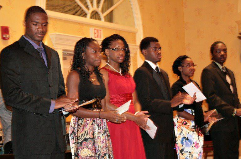 2 Scholarship Recipients at Caribbean Educators Association Annual Scholarship Awards 2012