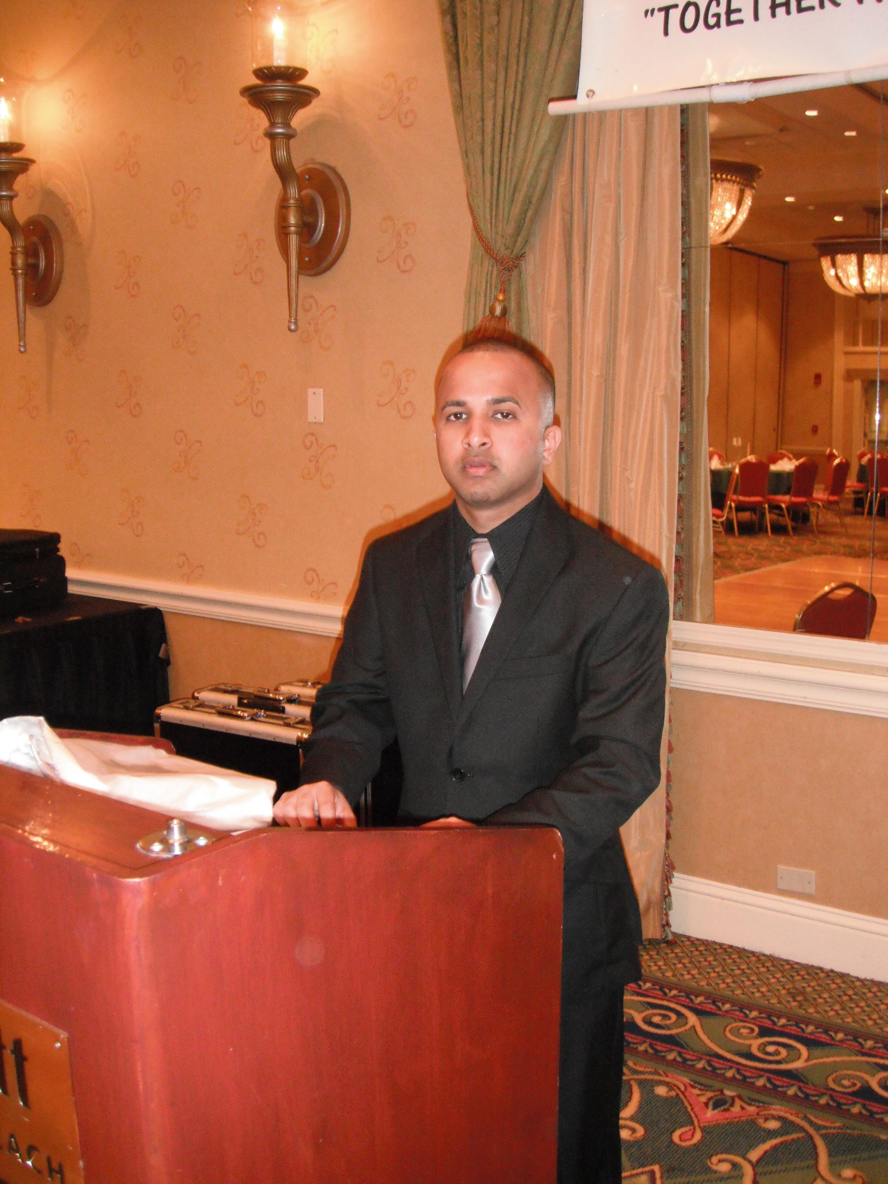 4 Terrence Narinesingh at Caribbean Educators Association Annual Scholarship Awards 2012