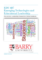EDU 687 Notebook – PDF Version