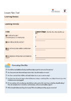 Harvard University_Terrence Narinesingh_Lesson Plan Tool