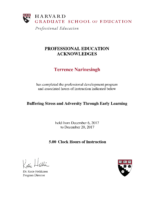 Terrence-Narinesingh-Harvard-Certificate-for-Early-Learning