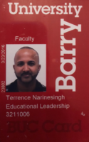 Terrence Narinesingh Faculty ID Barry University