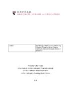 Elevator Pitch – Educating Global Citizens – Terrence Narinesingh – Harvard University