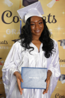 Picture 02 b – Dr. Terrence Narinesingh, Ph.D. at Broward County Public Schools Graduation with graduating senior Jade Green