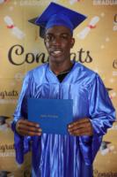 Picture 03 b – Dr. Terrence Narinesingh, Ph.D. at Broward County Public Schools Graduation with graduating senior Dareunte Price